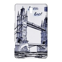 Lovely London Baby  Samsung Galaxy Tab S (8 4 ) Hardshell Case  by Brittlevirginclothing