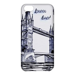 Lovely London Baby  Apple Iphone 5c Hardshell Case by Brittlevirginclothing