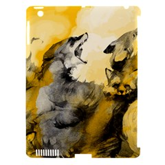 Wild Wolf Apple Ipad 3/4 Hardshell Case (compatible With Smart Cover) by Brittlevirginclothing