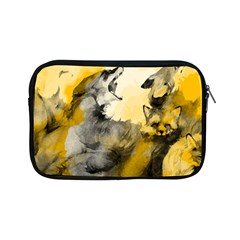Wild Wolf Apple Ipad Mini Zipper Cases by Brittlevirginclothing