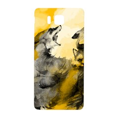 Wild Wolf Samsung Galaxy Alpha Hardshell Back Case by Brittlevirginclothing