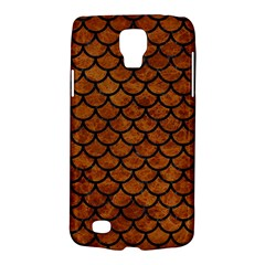 Scales1 Black Marble & Brown Marble (r) Samsung Galaxy S4 Active (i9295) Hardshell Case by trendistuff