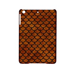 Scales1 Black Marble & Brown Marble (r) Apple Ipad Mini 2 Hardshell Case by trendistuff