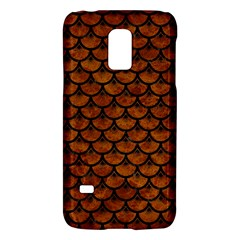 Scales3 Black Marble & Brown Marble (r) Samsung Galaxy S5 Mini Hardshell Case  by trendistuff
