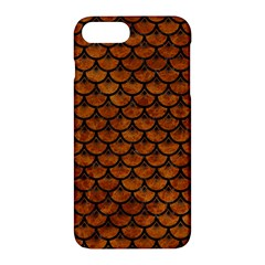 Scales3 Black Marble & Brown Marble (r) Apple Iphone 7 Plus Hardshell Case