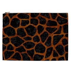 Skin1 Black Marble & Brown Marble (r) Cosmetic Bag (xxl) by trendistuff
