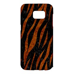 Skin3 Black Marble & Brown Marble Samsung Galaxy S7 Edge Hardshell Case