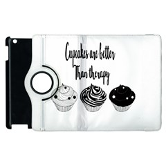 Cupcakes  Apple Ipad 2 Flip 360 Case by Brittlevirginclothing