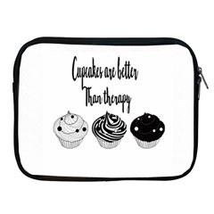 Cupcakes  Apple Ipad 2/3/4 Zipper Cases by Brittlevirginclothing