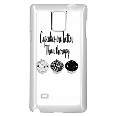 Cupcakes  Samsung Galaxy Note 4 Case (white) by Brittlevirginclothing