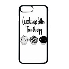 Cupcakes  Apple Iphone 7 Plus Seamless Case (black)