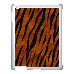 Skin3 Black Marble & Brown Marble (r) Apple Ipad 3/4 Case (white) by trendistuff