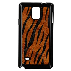 Skin3 Black Marble & Brown Marble (r) Samsung Galaxy Note 4 Case (black)