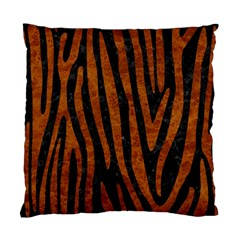 Skin4 Black Marble & Brown Marble (r) Standard Cushion Case (two Sides) by trendistuff
