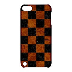Square1 Black Marble & Brown Marble Apple Ipod Touch 5 Hardshell Case With Stand by trendistuff