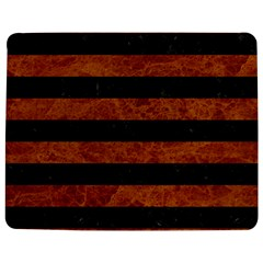 Stripes2 Black Marble & Brown Marble Jigsaw Puzzle Photo Stand (rectangular) by trendistuff