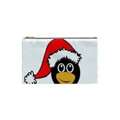 Christmas Animal Clip Art Cosmetic Bag (small)  by Onesevenart