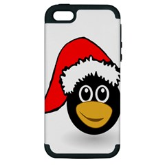 Christmas Animal Clip Art Apple Iphone 5 Hardshell Case (pc+silicone)