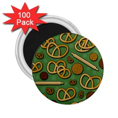Bakery 4 2 25  Magnets (100 Pack)  by Valentinaart