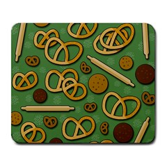 Bakery 4 Large Mousepads by Valentinaart