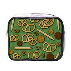 Bakery 4 Mini Toiletries Bags by Valentinaart