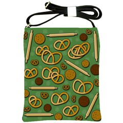 Bakery 4 Shoulder Sling Bags by Valentinaart