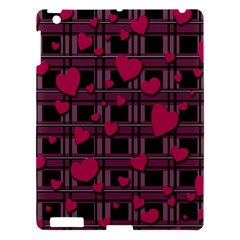 Harts Pattern Apple Ipad 3/4 Hardshell Case by Valentinaart