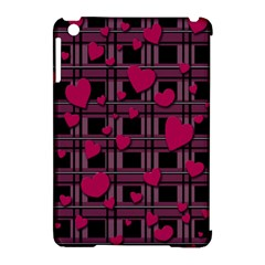 Harts Pattern Apple Ipad Mini Hardshell Case (compatible With Smart Cover) by Valentinaart