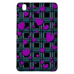 Purple Love Samsung Galaxy Tab Pro 8 4 Hardshell Case by Valentinaart
