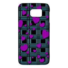 Purple Love Galaxy S6 by Valentinaart