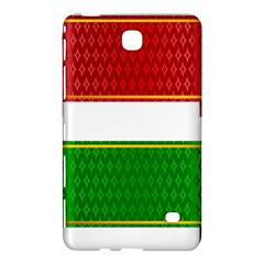 Christmas Banners Clipart Samsung Galaxy Tab 4 (8 ) Hardshell Case  by Onesevenart