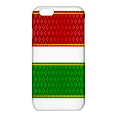 Christmas Banners Clipart iPhone 6/6S TPU Case by Onesevenart
