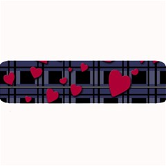 Decorative Love Large Bar Mats by Valentinaart