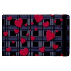 Decorative love Apple iPad 2 Flip Case by Valentinaart