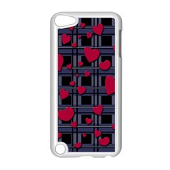 Decorative Love Apple Ipod Touch 5 Case (white) by Valentinaart