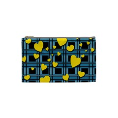 Love Design Cosmetic Bag (small)  by Valentinaart