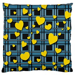 Love Design Standard Flano Cushion Case (two Sides) by Valentinaart