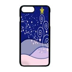 Christmas Tree Apple iPhone 7 Plus Seamless Case (Black) by Onesevenart