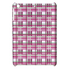 Pink Plaid Pattern Apple Ipad Mini Hardshell Case by Valentinaart