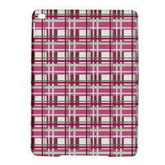 Pink Plaid Pattern Ipad Air 2 Hardshell Cases by Valentinaart