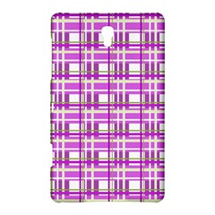 Purple plaid pattern Samsung Galaxy Tab S (8.4 ) Hardshell Case  by Valentinaart