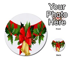 Christmas Clip Art Banners Clipart Best Multi Purpose Cards (round)  by Onesevenart
