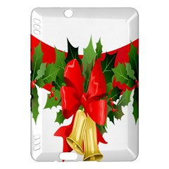 Christmas Clip Art Banners Clipart Best Kindle Fire Hdx Hardshell Case by Onesevenart