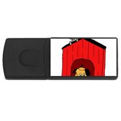 Dog Toy Clip Art Clipart Panda Usb Flash Drive Rectangular (4 Gb)  by Onesevenart