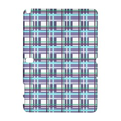 Decorative Plaid Pattern Galaxy Note 1 by Valentinaart