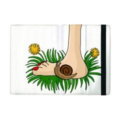 Barefoot In The Grass Apple Ipad Mini Flip Case by Valentinaart