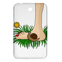 Barefoot In The Grass Samsung Galaxy Tab 3 (7 ) P3200 Hardshell Case  by Valentinaart