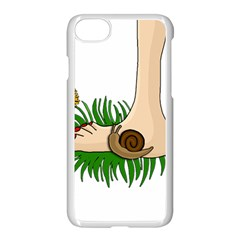 Barefoot In The Grass Apple Iphone 7 Seamless Case (white) by Valentinaart