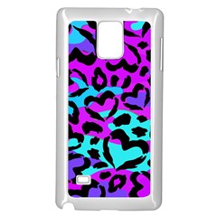 Purple Love Camo Samsung Galaxy Note 4 Case (White) by KirstenStar