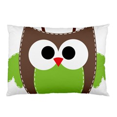 Clip Art Animals Owl Pillow Case